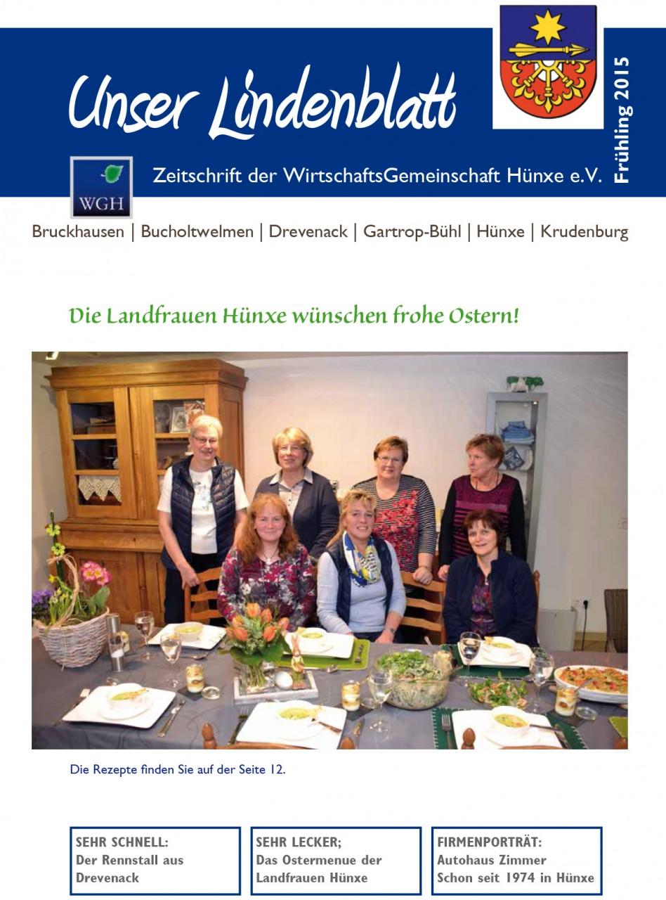 2015 Frühling Lindenblatt