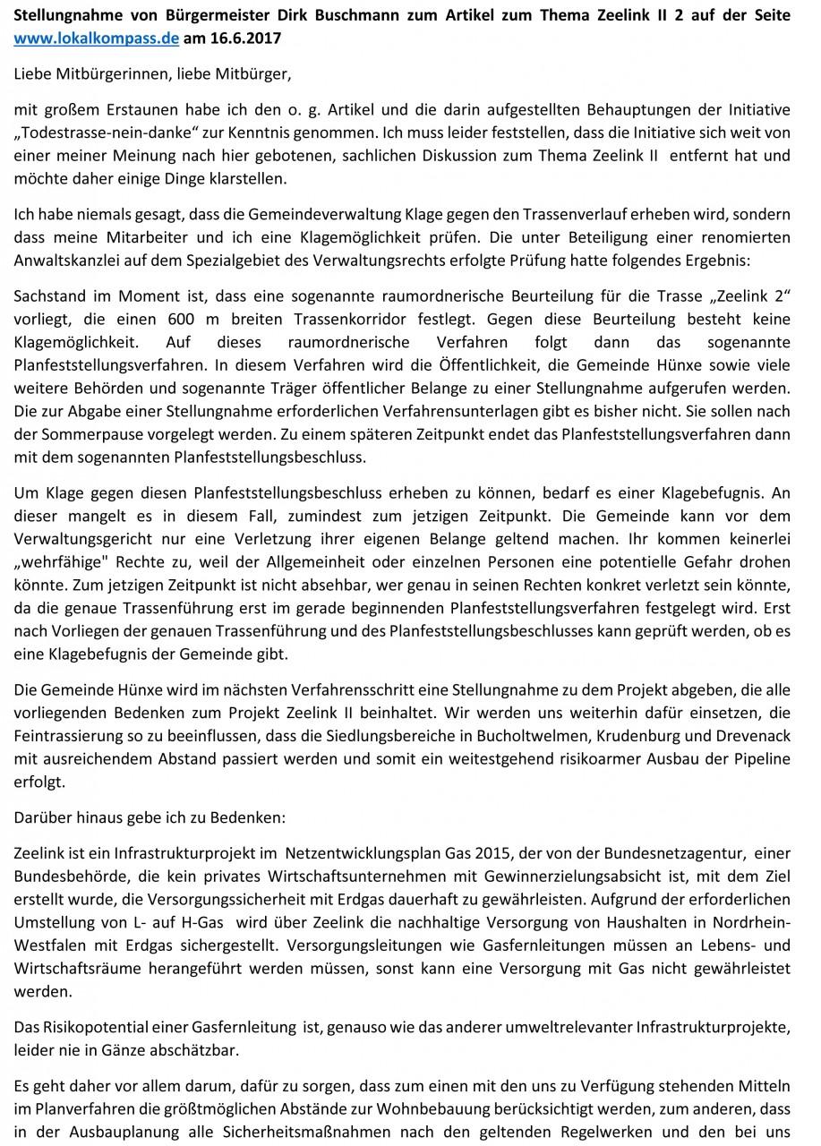 20170621DBStellungnahmeZeelink IIfinal-1 1