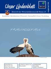 """Unser Lindenblatt Die aktuelle Ausgabe von """"Unser Lindenblatt"""". können Sie hier anklicken.  Alle anderen bisher erschienenen Ausgaben finden Sie oben in der Menüleiste unter """"Unser Lindenblatt""""."""