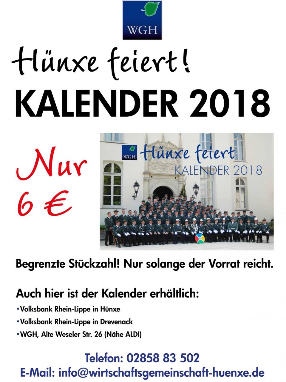 A3-Fotokalender 2018