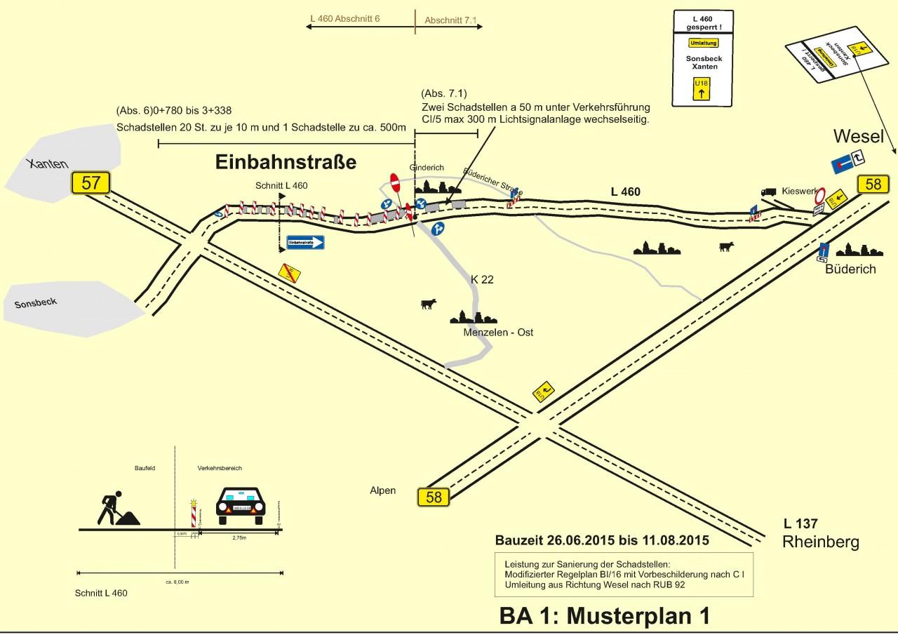 Anlage 10_L460 Verkehrsführung BA 1 Musterplan 1